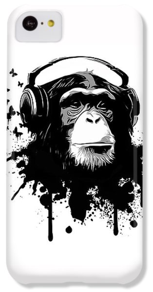 Monkey Business IPhone 5c Case by Nicklas Gustafsson