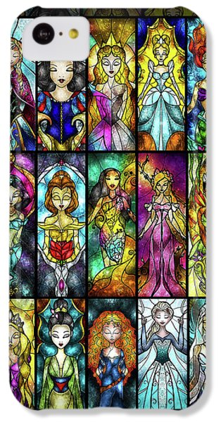 The Princesses IPhone 5c Case by Mandie Manzano