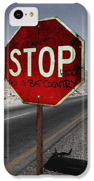 This Is Bat Country IPhone 5c Case by Nicklas Gustafsson