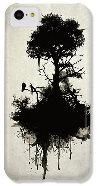 Raven iPhone 5c Case - Last Tree Standing by Nicklas Gustafsson
