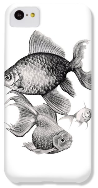 Goldfish IPhone 5c Case by Sarah Batalka