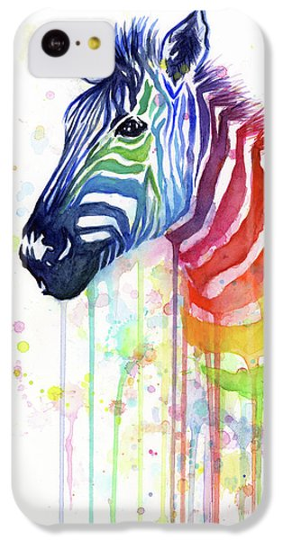 Rainbow Zebra - Ode To Fruit Stripes IPhone 5c Case