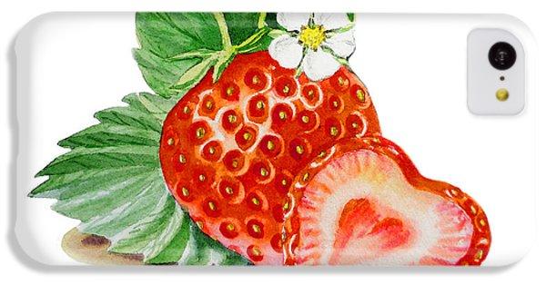 Artz Vitamins A Strawberry Heart IPhone 5c Case