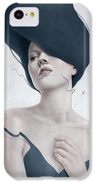 Portraits iPhone 5c Case - Ascension by Diego Fernandez