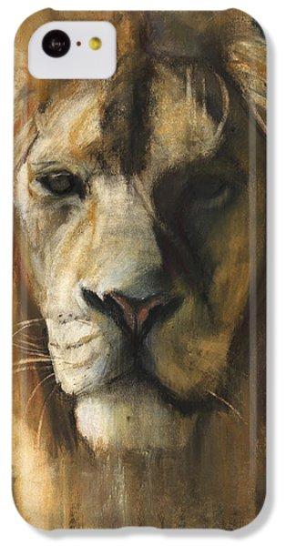 Asiatic Lion IPhone 5c Case by Mark Adlington