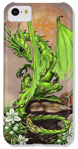 Asparagus Dragon IPhone 5c Case