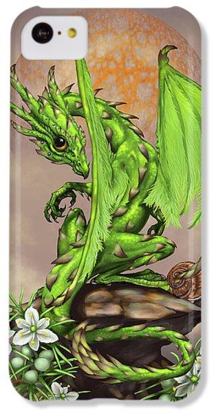 Asparagus Dragon IPhone 5c Case by Stanley Morrison