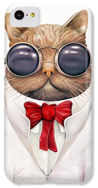 Astro Cat IPhone 5c Case by Animal Crew