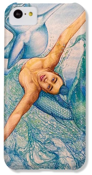 Astrology Zodiac Signs Pisces IPhone 5c Case by Kent Chua