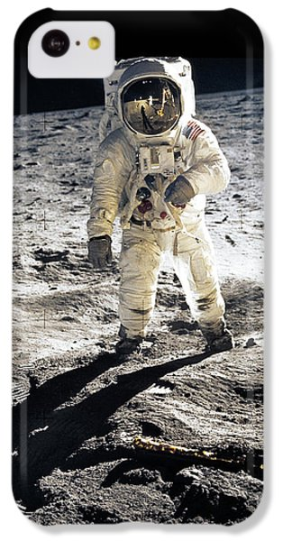 Astronauts iPhone 5c Case - Astronaut by Photo Researchers