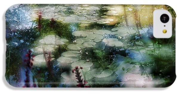 IPhone 5c Case featuring the photograph At Claude Monet's Water Garden 2 by Dubi Roman