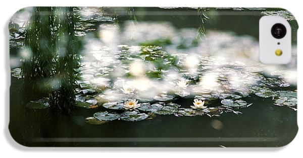 IPhone 5c Case featuring the photograph At Claude Monet's Water Garden 5 by Dubi Roman
