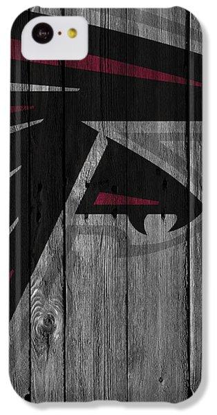Atlanta Falcons Wood Fence IPhone 5c Case