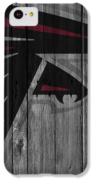 Atlanta Falcons Wood Fence IPhone 5c Case by Joe Hamilton