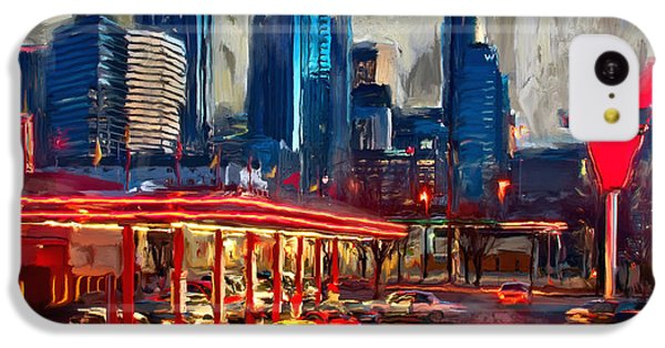 Atlanta Skyline 231 1 IPhone 5c Case by Mawra Tahreem