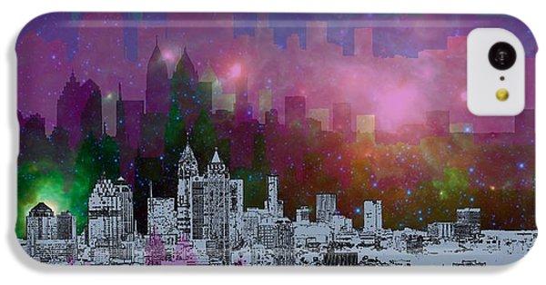 Landscapes iPhone 5c Case - Atlanta Skyline 7 by Alberto RuiZ
