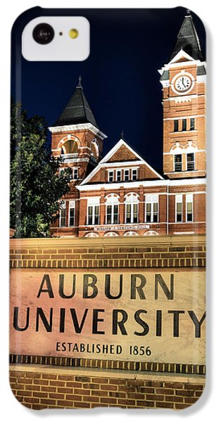 Auburn University IPhone 5c Case by JC Findley
