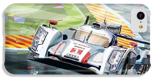 Car iPhone 5c Case - Audi R18 E-tron Quattro by Yuriy Shevchuk