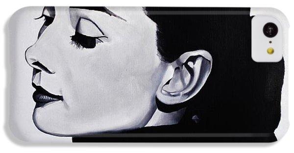 Audrey Hepburn 1 IPhone 5c Case by Brian Broadway