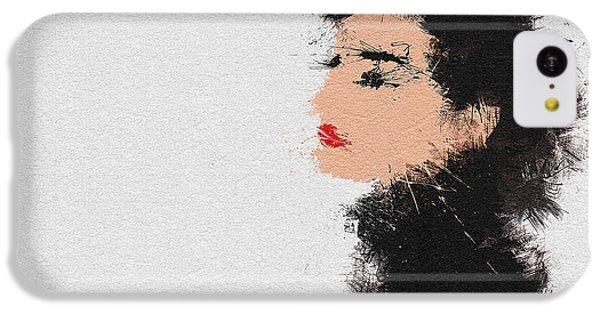 Audrey Hepburn IPhone 5c Case by Miranda Sether