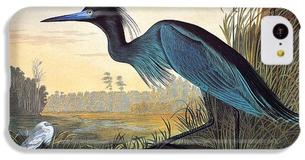 Audubon: Little Blue Heron IPhone 5c Case by Granger