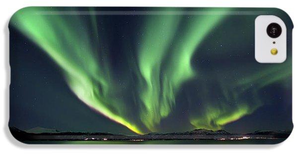 Aurora Borealis Over Tjeldsundet IPhone 5c Case
