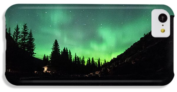 Aurora On Moraine Lake IPhone 5c Case by Alex Lapidus
