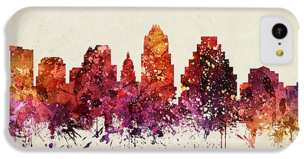 Austin Cityscape 09 IPhone 5c Case by Aged Pixel
