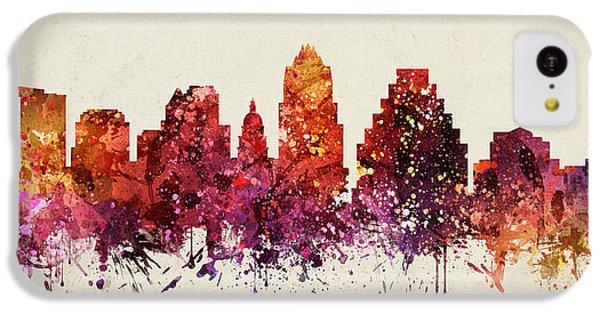 Austin Cityscape 09 IPhone 5c Case by Aged Pixel
