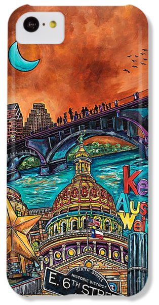 Austin Keeping It Weird IPhone 5c Case
