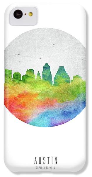 Austin Skyline Ustxau20 IPhone 5c Case by Aged Pixel
