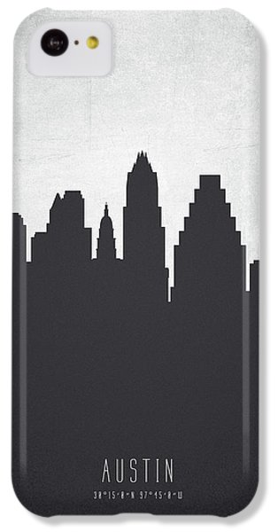 Austin Texas Cityscape 19 IPhone 5c Case by Aged Pixel