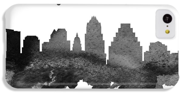 Austin Texas Skyline 18 IPhone 5c Case by Aged Pixel