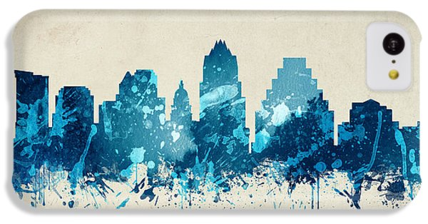 Austin Texas Skyline 20 IPhone 5c Case by Aged Pixel