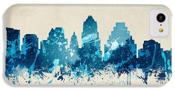 Austin Texas Skyline 20 IPhone 5c Case by Aged Pixel