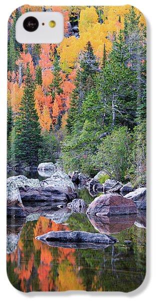 Autumn At Bear Lake IPhone 5c Case by David Chandler