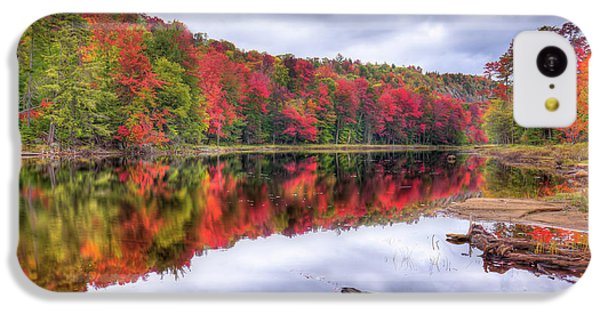 IPhone 5c Case featuring the photograph Autumn Color At The Pond by David Patterson