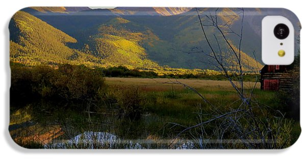 Autumn Evening IPhone 5c Case by Karen Shackles