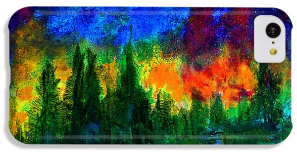 Autumn Fires IPhone 5c Case by Claire Bull