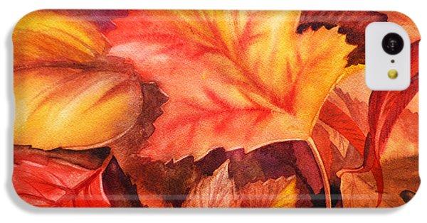 Autumn Leaves IPhone 5c Case