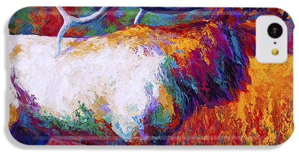 Bull iPhone 5c Case - Autumn by Marion Rose