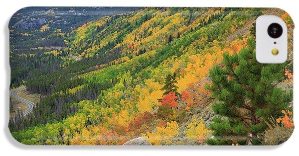 Autumn On Bierstadt Trail IPhone 5c Case by David Chandler