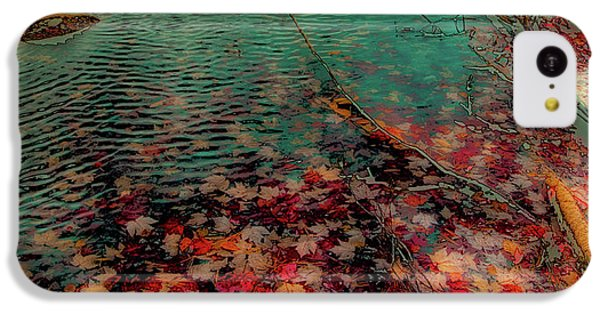 IPhone 5c Case featuring the photograph Autumn Submerged by David Patterson