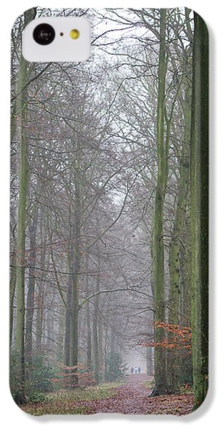 Autumn Woodland Avenue IPhone 5c Case by Gary Eason