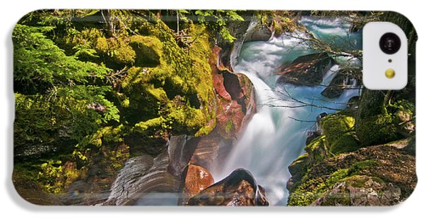 IPhone 5c Case featuring the photograph Avalanche Gorge by Gary Lengyel