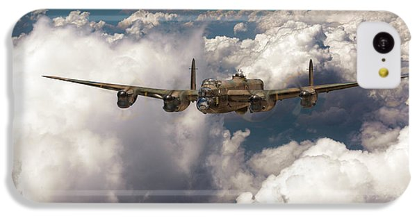 IPhone 5c Case featuring the photograph Avro Lancaster Above Clouds by Gary Eason