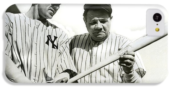 Babe Ruth And Lou Gehrig IPhone 5c Case