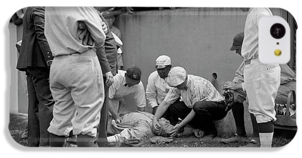 Babe Ruth Knocked Out By A Wild Pitch IPhone 5c Case
