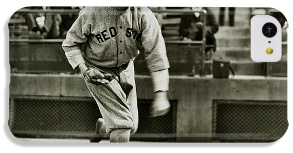 Babe Ruth Pitching IPhone 5c Case