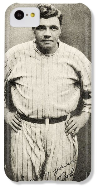Babe Ruth Portrait IPhone 5c Case